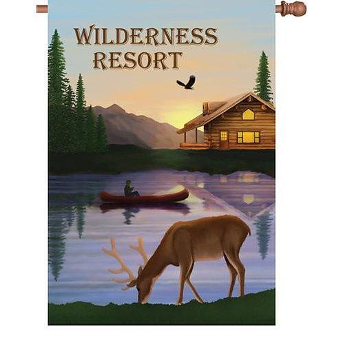 Wilderness Resort House Flag