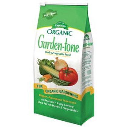 Organic Garden Tone 3-4-4   8 lb bag