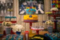 Decoração Casamento - Decoração Casamento Curitiba - Decoração Festa 15 Anos Curitiba - Decoração Festa Infantil Curitiba - Produção Projeto Decoração Eventos Curitiba -  Atelier 16 - Tatiane Amaro - 3 anos Eduardo - The Beatles