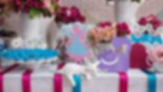 Decoração Casamento - Festa 15 Anos - Festa Infantil - Produção Evento - Curitiba - Atelier 16 - Tatiane Amaro  - 1 ano Alice - Alice no país das maravilhas
