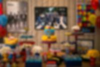 Decoração Casamento - Festa 15 Anos - Festa Infantil - Produção Evento - Curitiba - Atelier 16 - Tatiane Amaro - 3 anos Eduardo - The Beatles