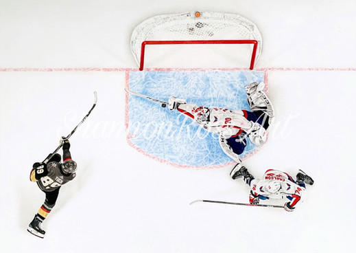 """""""The Save"""" by Braden Holtby - 2019"""