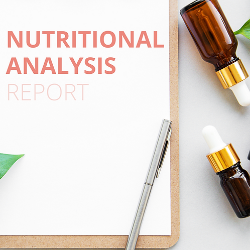 Nutritional Analysis Report