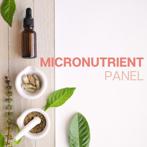MicroNutrient Panel