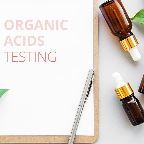 Organic Acids Testing