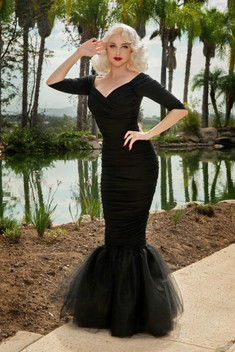 80315-Monica-Mermaid-Dress-Black-Pinup-C