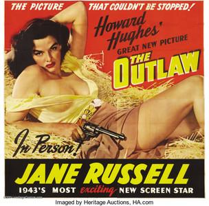 The Outlaw (O Proscrito - 1943) estrelado por Jane Russell