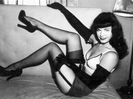 Modelo Pin-up: Bettie Page, a rainha das pin-ups
