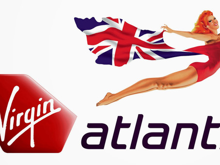 Virgin Atlantic e a Flying Lady