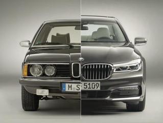 Πόσο άλλαξε η BMW Σειρά 7 από το 1977 έως σήμερα (video)
