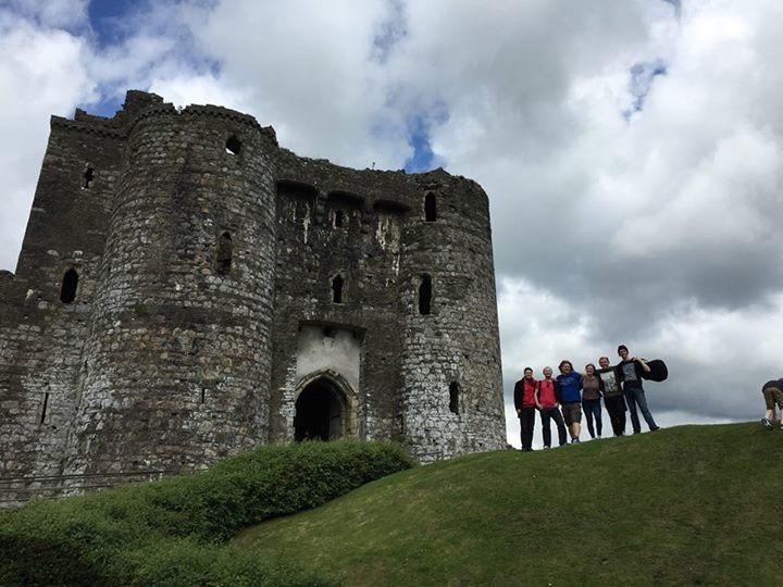 The might Kidwelly Castle