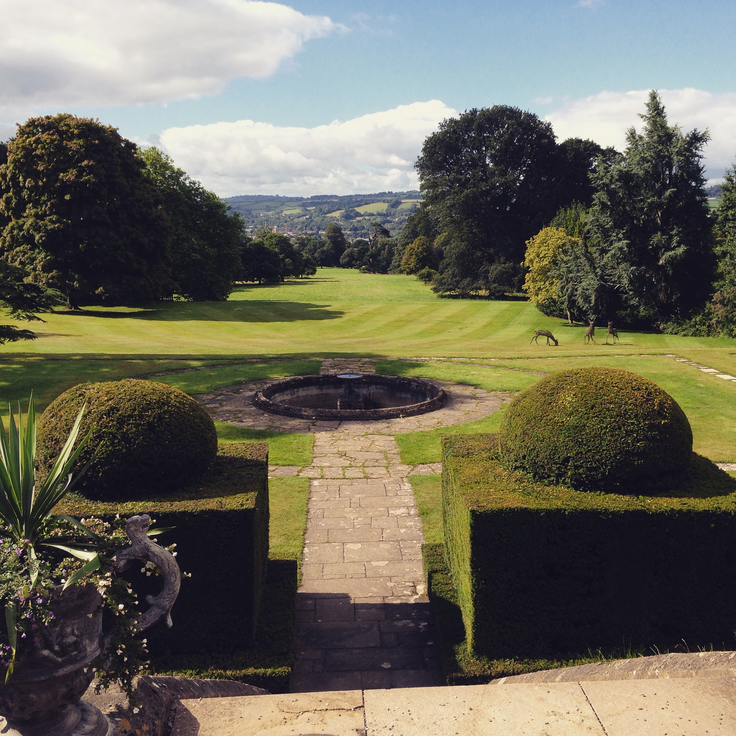 The beautiful gardens. Knightshayes