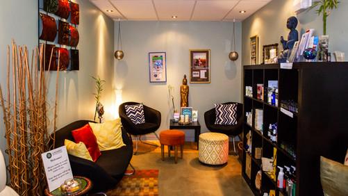 Serendipity Wellness Studio waiting area