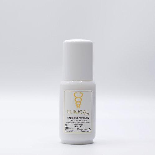 Emulsione nutriente capelli fragili