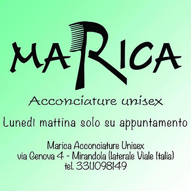 MARICA ACCONCIATURE UNISEX