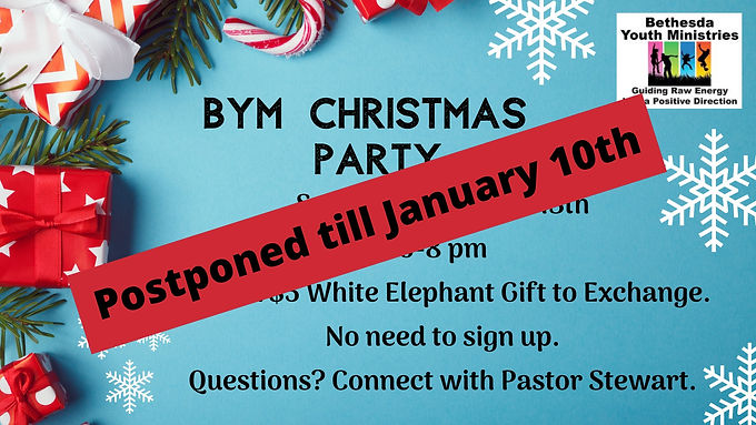 BYM Christmas Party