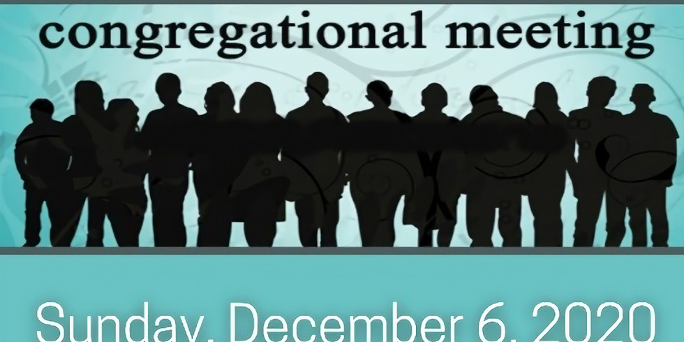 Combined Worship Service and Congregational Meeting