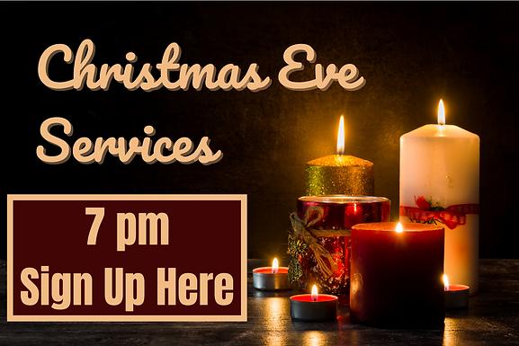 7 pm Christmas Eve Service