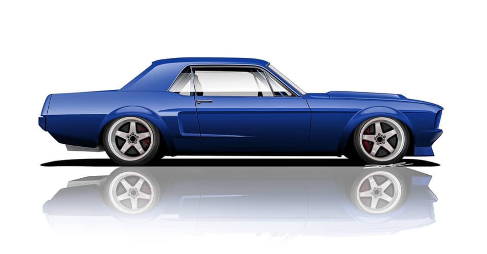 Xdrift Mustang IRS