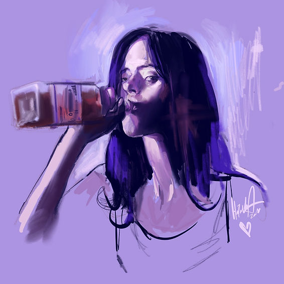 jessica jones drinking