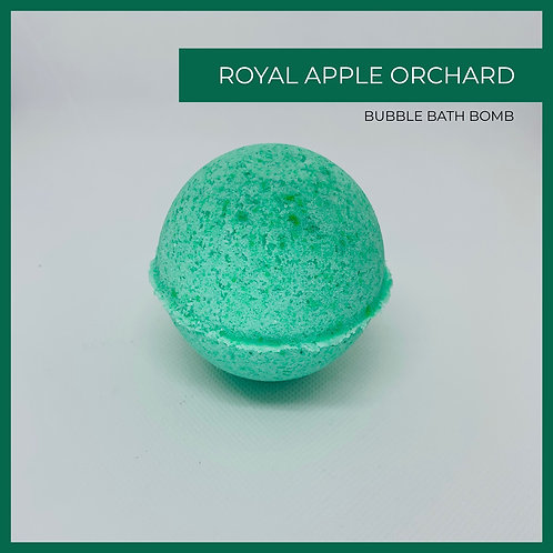 Royal Apple Orchard  Bubble Bath Bomb