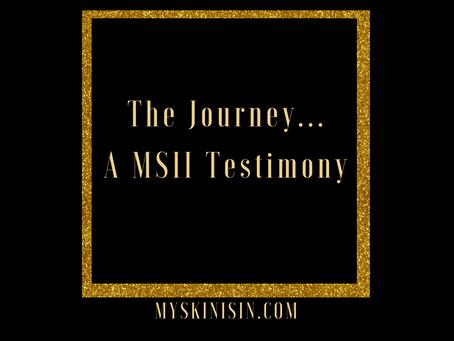 A My Skin Is In Testimony