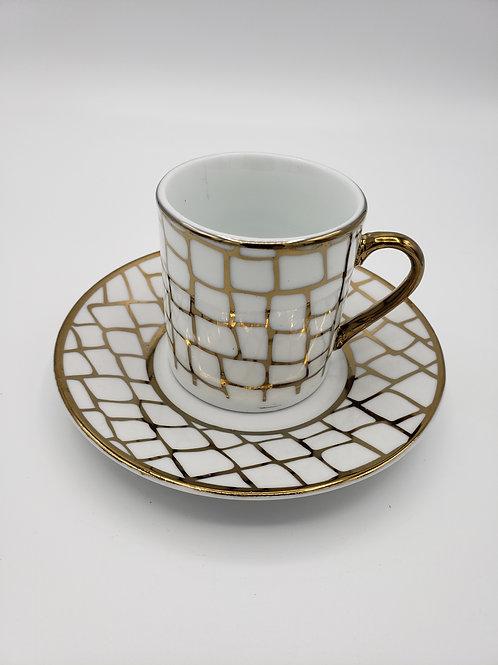 Ceramic Espresso Glasses