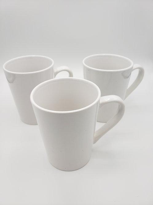 White Mugs