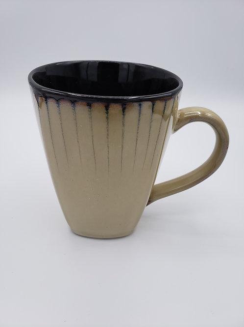 Black & Tan Ceramic Mug