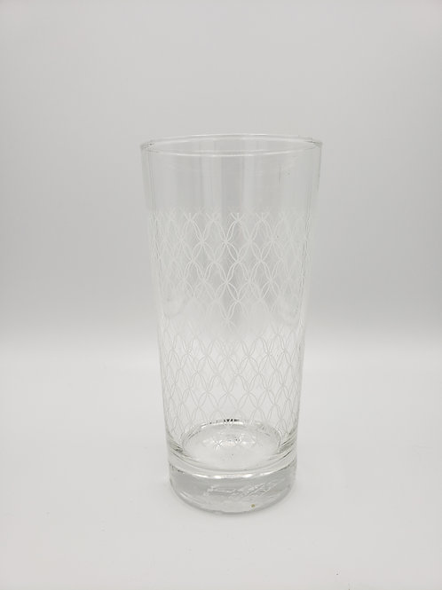 Stenciled Water Glasses