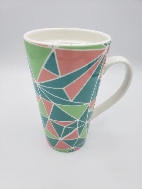 Tall Modern Ceramic Mug