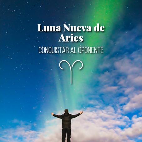 Luna nueva de Aries 2020 - Conquistar al oponente