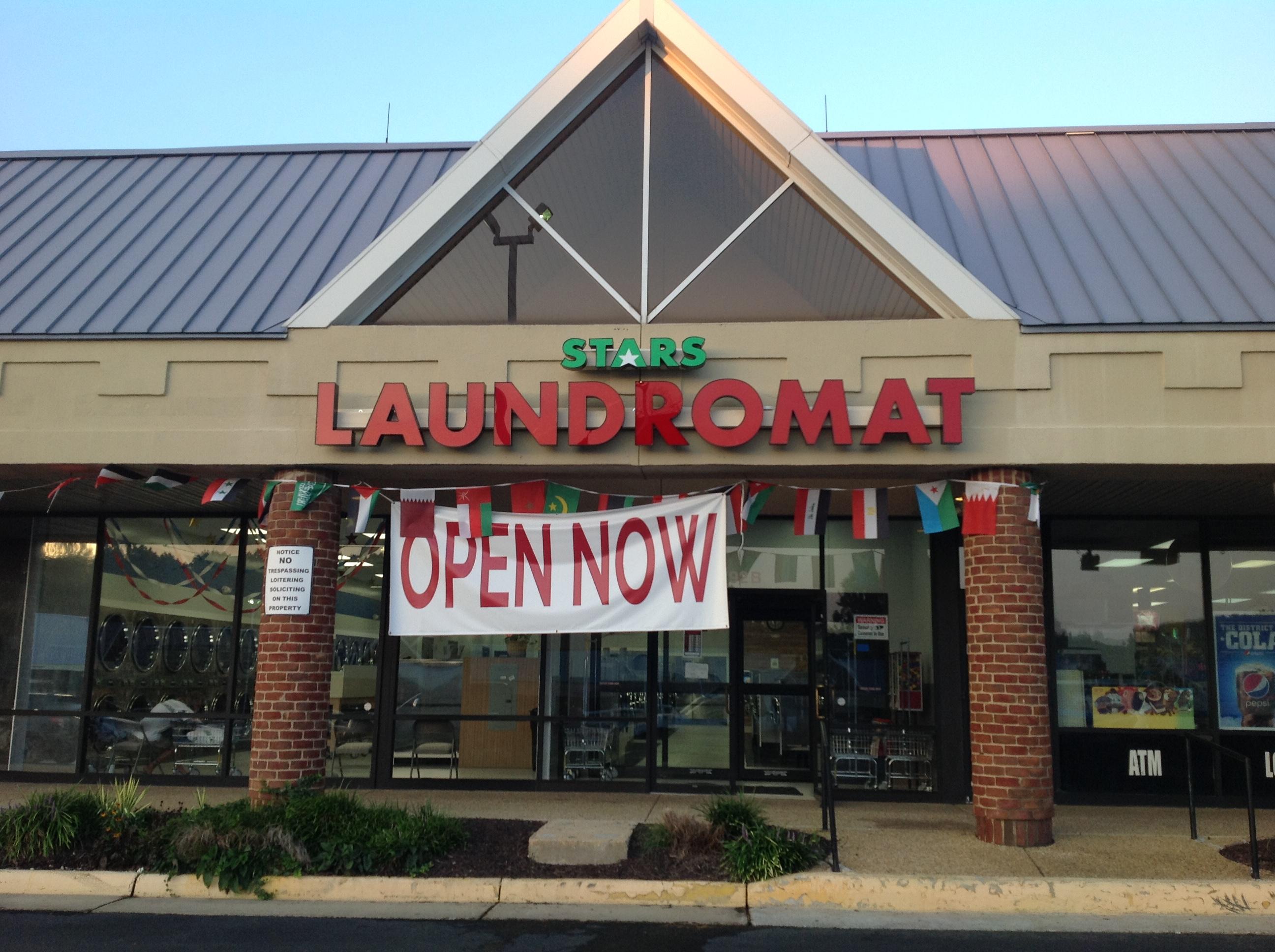 Stars Laundromat Main Entrance