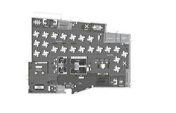 1st Floor Single-Tenant Socially Distanced Density