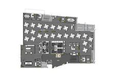1st Floor Multi-Tenant Socially Distanced Density