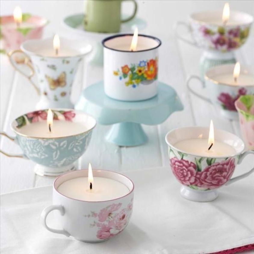 Vintage Candle Pour & Tea Pairing Experience