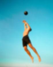 Man Volleyball