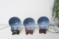 Koeiendrinkbak lampen