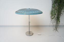 Blauwe tafellamp