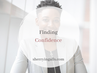 Finding Confidence!