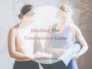 Ditching The Comparison Game