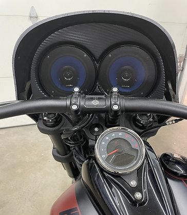 Audio insert for Bullit fairings