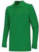 Green Long Sleeve Polo.jpeg