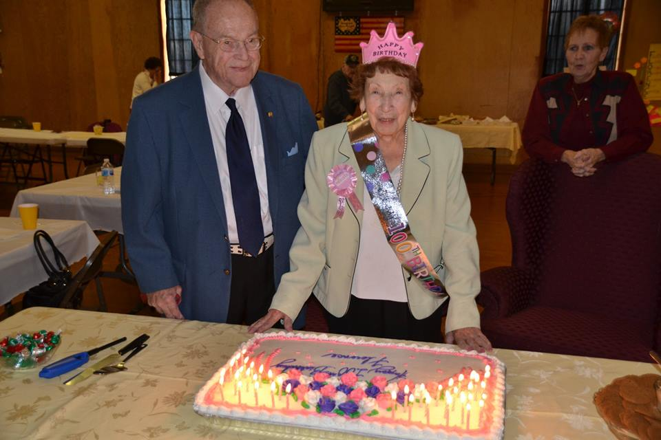 Florence's 100th Birthday Party