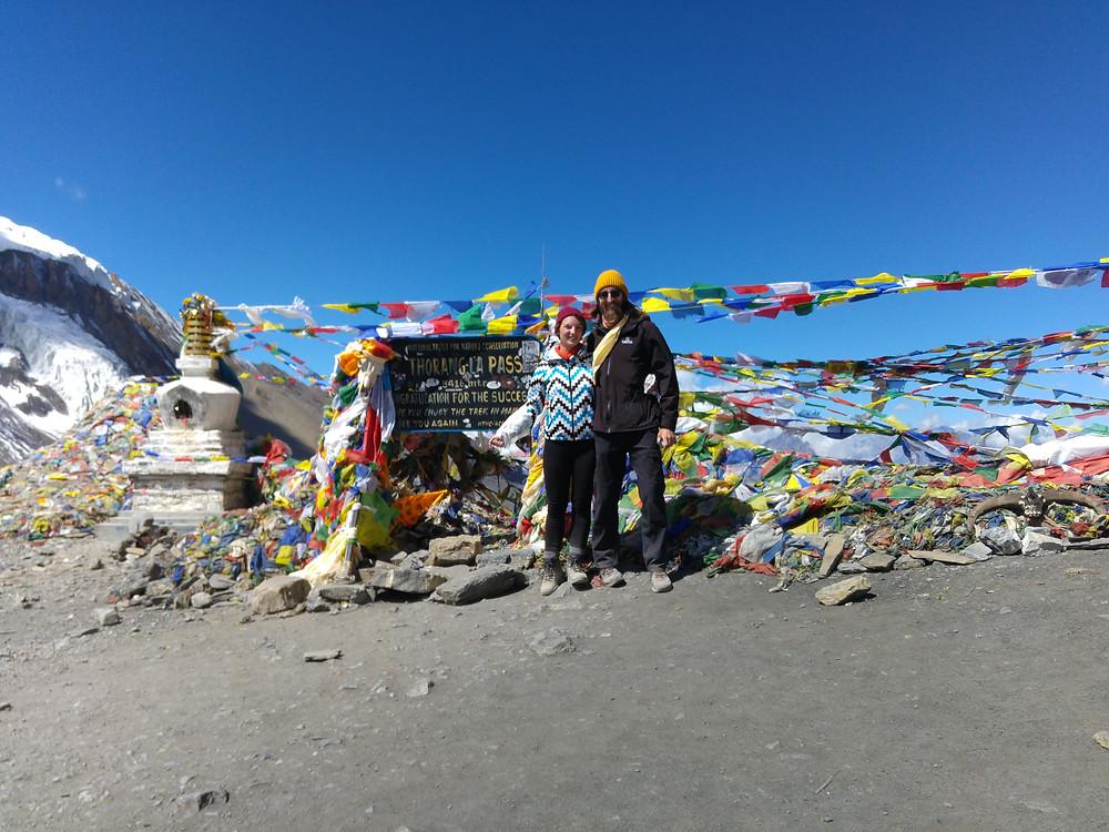 thorung la pass annapurna circuit trail