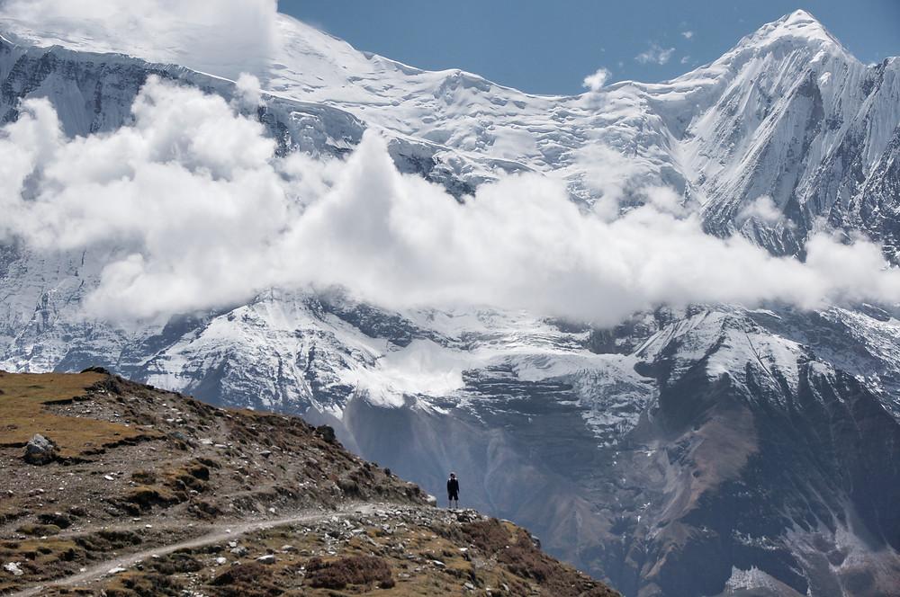 kicho icelake manang annapurna trail