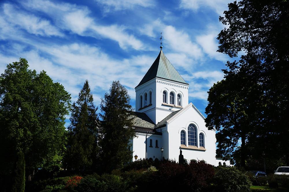 Norsko Norway Oslo church