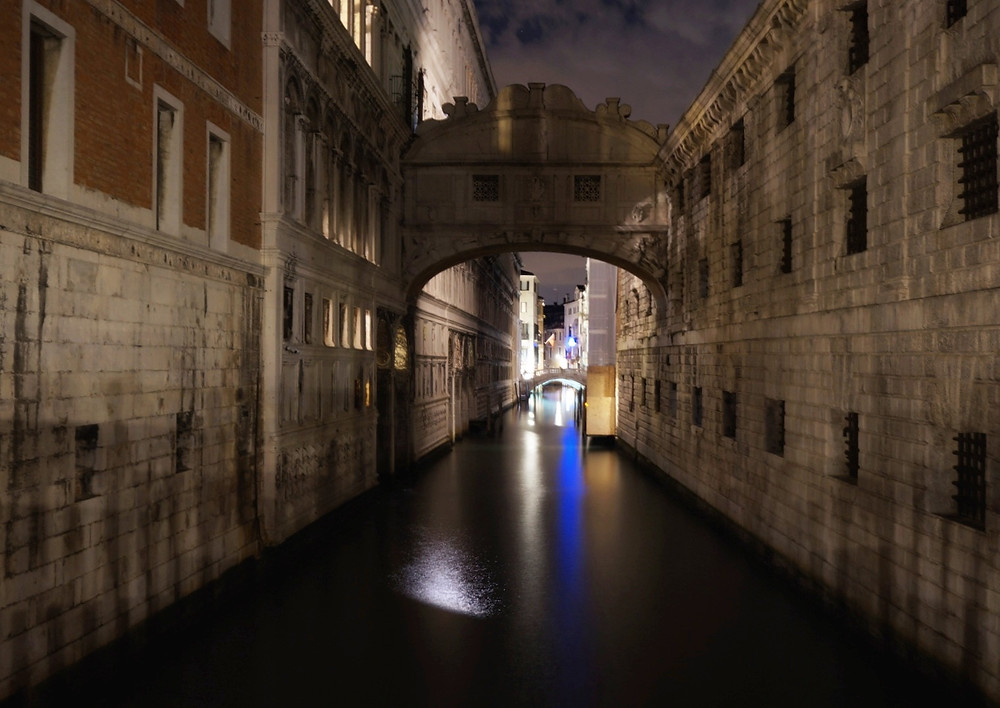 most vzdechů venezia benátky Ponte dei Sospiri