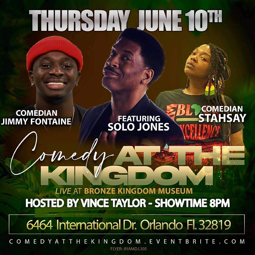 Thursday Night Comedy at the Kingdom
