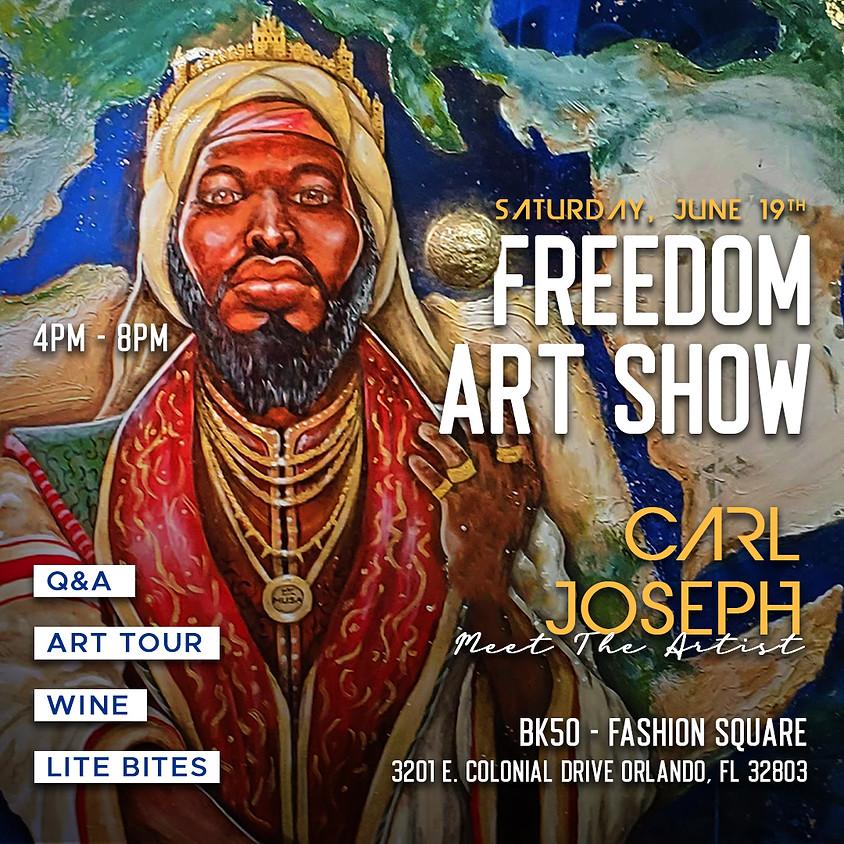 Meet the Artist - Carl Joseph